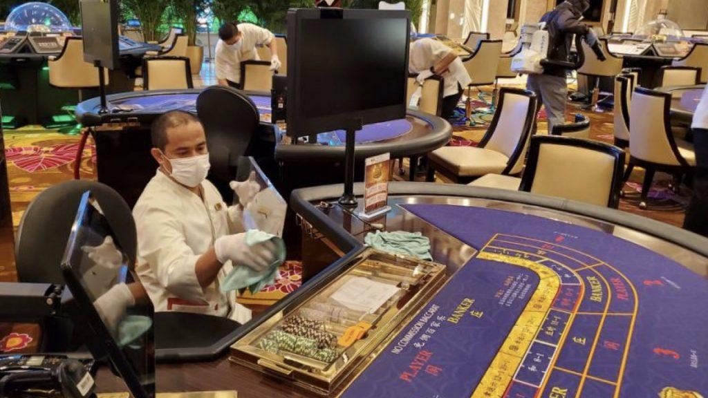 Covid-19 precautions in Macau casinos